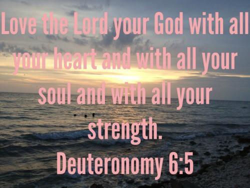 Verse of the Week – Deuteronomy 6:5