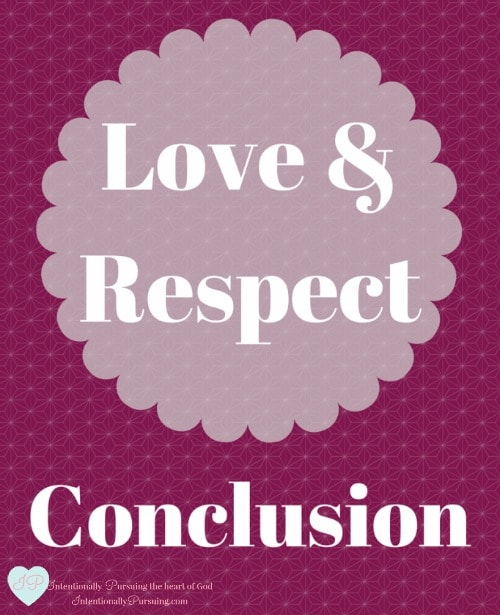 Love And Respect: Love & Respect