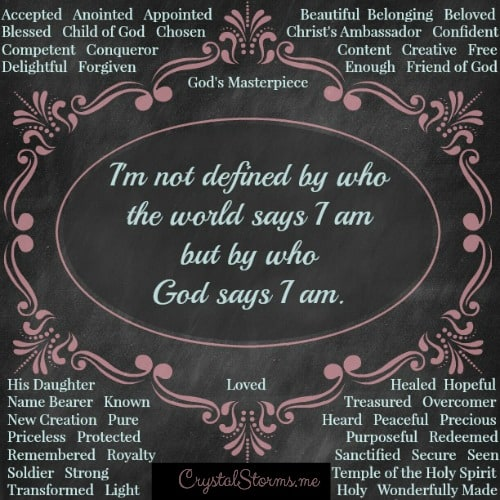 Image result for God says I am His