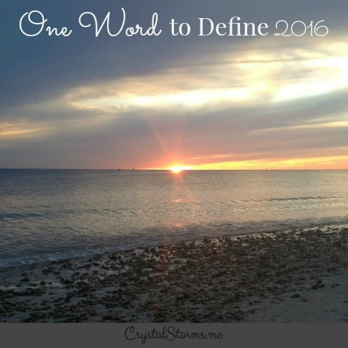 preview:Having one word to define my year has been a process of intentionally pursuing the heart of God. It's a way to focus my thoughts and seek God in a new way.