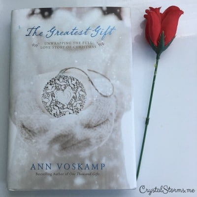 "The Greatest Gift by Ann Voskamp - Need a gift idea or two? I love giving and receiving inspirational gifts that encourage the heart. Today I'm sharing a few of my favorite things. James 1:17 tells us, ""Every good and perfect gift is from above, coming down from the Father of the heavenly lights, who does not change like shifting shadows."""