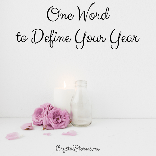 Do you seek God for one word to define your year? Having one word to define my year has been a process of seeking God's heart. It's a way to focus my thoughts and seek Him in a new way.