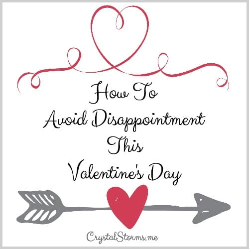 Three Ways To Avoid Disappointment This Valentine's Day. 1 Corinthians 3:17: Love bears all things [regardless of what comes], believes all things [looking for the best in each one], hopes all things [remaining steadfast during difficult times], endures all things [without weakening].