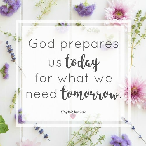 God has already prepared you for this – #HeartEncouragement
