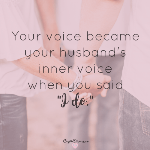 The 2 Words that Empower You as a Wife – #HeartEncouragement