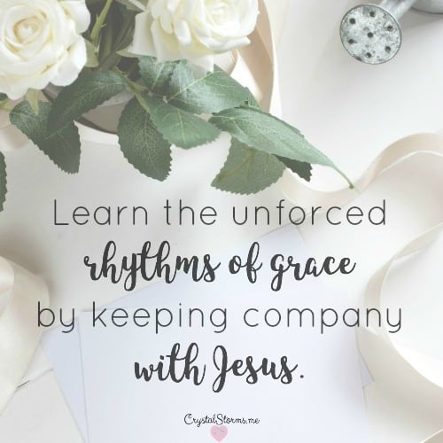 How to Experience the Unforced Rhythms of Grace – #HeartEncouragement