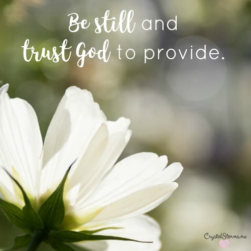 Why We Can Trust God to Provide {Giveaway} – #HeartEncouragement