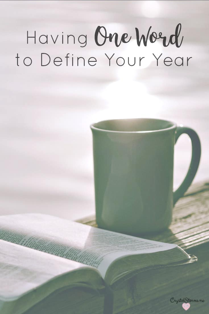 What does it mean to seek God for one word to define your year? Having one word to define your year helps you become who God created you to be. Having one..