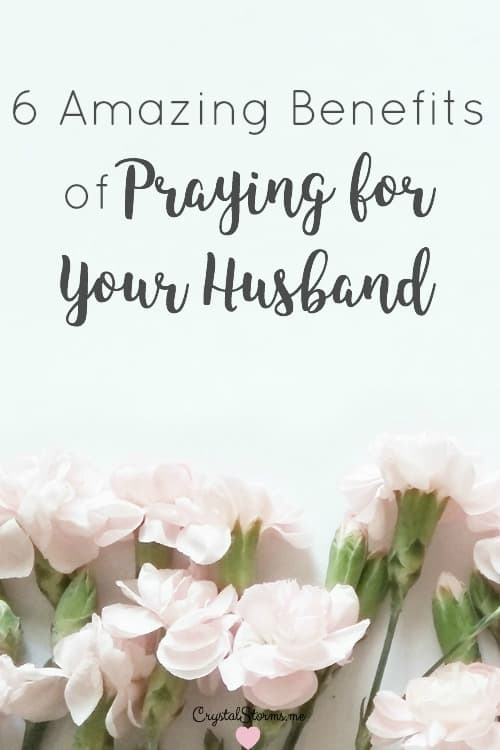God used my prayers for my husband to change my heart. One benefit of praying for my husband is I no longer pray for Tim to be all I want him to be. I pray for him to be all God calls him to be and for me to be the wife Tim needs. 6 Amazing Benefits of Praying for Your Husband Psalm 37:4 Take delight in the Lord, and..