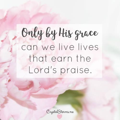 """Have you ever wanted to earn the Lord's praise? A few women in the Bible have done it, including the Proverbs 31 woman. """"Many women do noble things, but you surpass them all."""" Charm is deceptive, and beauty is fleeting but a woman who fears the Lord is to be praised. (Proverbs 31:29-30). How To Earn the Lord's Praise"""