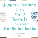 Say yes to summertime's invitation to read with this 2019 Summer Reading List. Sharing some of my favorite Christian nonfiction books I read last year. | Christian Books | Christian Reads | Books to Grow Your Faith | Marriage Reads