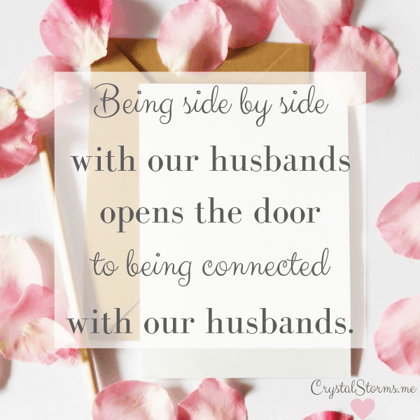 Crystal Storms - Do you want to have a heart-to-heart with your husband? Genesis 2:18 and 2:24 Discover the 3 things needed to connect with your husband's heart. #MarriageEncouragement #HeartEncouragement #ChristianMarriage #ChristianWife #ChristCenteredMarriage
