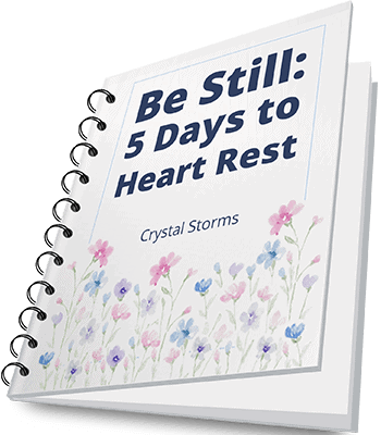 Be Still: 5 Days to Heart Rest | Christian faith encouragement | Christian woman | Christian living