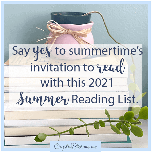 Say yes to summertime's invitation to read with this 2021 Summer Reading List. | Christian books to read | Favorite Christian reads | Favorite Christian books