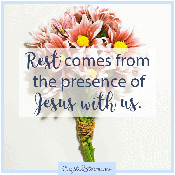 Rest comes from the presence of Jesus. | Christian woman | Christian faith | Christian encouragement